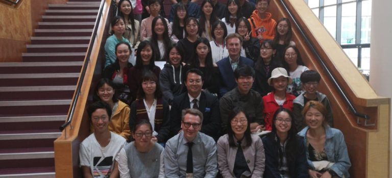 Chinese students inspired by the UK's Creative Industries